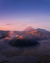 Sunrise over Mount Bromo Indonesia