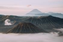 Sunrise over Mount Bromo Jawa Indonesia