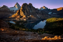 Sunrise over Mt Assiniboine Canada  Photo by Doug Solis