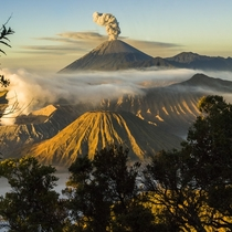 Sunrise Over Mt Bromo Indonesia