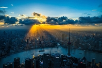 Sunrise Over Shanghai