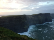 Sunrise over the Cliffs of Moher Co Clare Ireland