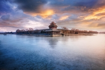 Sunrise over the Forbidden City Beijing