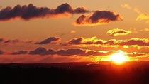 Sunrise Over The Gatineau Hills Gatineau Quebec Canada OC  Madfamousartist