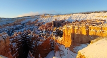 Sunrise point in Bryce Canyon Utah x