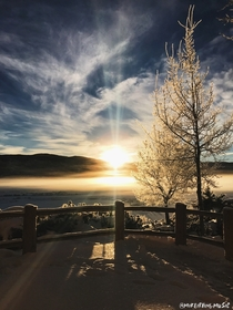 Sunrise - Steamboat Springs CO - December th