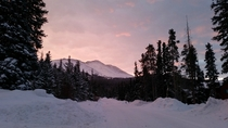 Sunrise taken in front of my house this morning Breckenridge CO  x