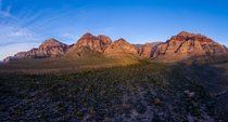 Sunrise this morning at Red Rock Canyon You might recognize this location from this subreddits banner