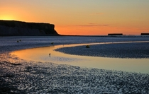 Sunset at Arromanches France One of the D-Day beaches