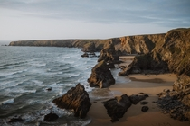 Sunset at Bedruthan Steps - A Beautiful part of the English Coast  IGpete_ell