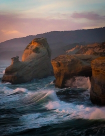 Sunset at Cape Kiwanda Oregon OC