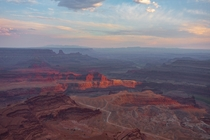 Sunset at Dead Horse Point Dead Horse Point State Park UT USA