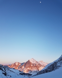 Sunset at Grindelwald OC x