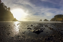 Sunset at Heceta Head Oregon