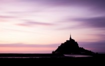 Sunset at Le Mont-Saint-Michel Basse-Normandie