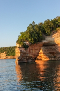 Sunset at Lovers Arch Pictured Rocks National Lakeshore Munising MI