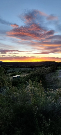 Sunset at Mesa Verde