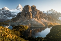 Sunset at Mount Assiniboine Canada x