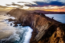 Sunset at Point Reyes National Seashore California