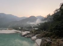 Sunset at Shivpuri village Rishikesh