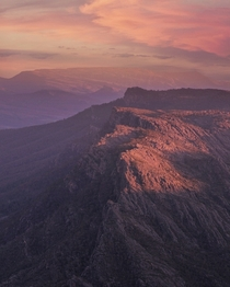 Sunset at the Grampians National Park Australia