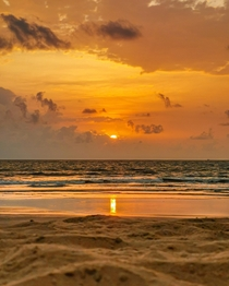 Sunset at Varca Beach Goa