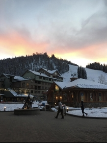 Sunset at Winter Park