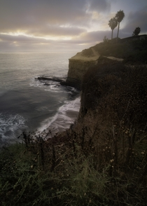 Sunset Cliffs San Diego CA living up to its name