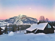 sunset Crested Butte Colorado - one of my favorite places in the world  x