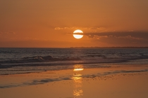 Sunset from Kiawah Island South Carolina
