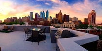 Sunset from the Roof Philadelphia