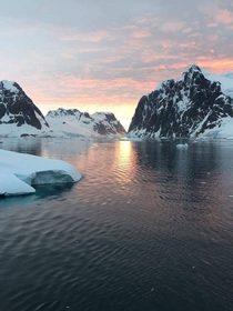 Sunset in Antarctica x OC