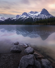 Sunset in Canmore Alberta  IG coleyyc