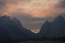 Sunset in Grand Tetons National Park by Arman Werth