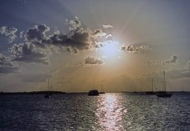 Sunset in Key Largo Florida