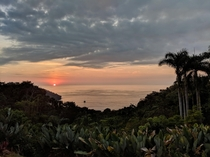 Sunset in Manuel Antonio Costa Rica