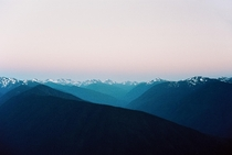 Sunset in Olympic National Park  IG ryantuttlephoto