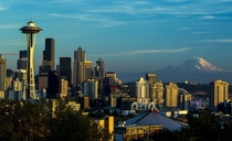 Sunset in Seattle  by Tiffany Arnim