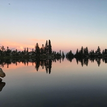Sunset in the high Sierras