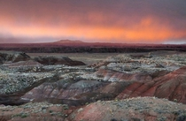 Sunset in the Painted Desert Arizona