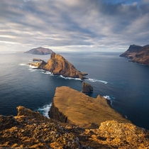 Sunset in Vagar Faroe Islands  by marcograssiphotography