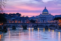 Sunset in Vatican City  by Srgio Martins