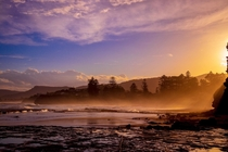 Sunset in Wollongong Australia