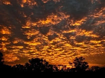 Sunset - Nappa Merrie Station Durham Shire of Bulloo Queensland Australia