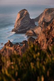 Sunset on Cabo da Roca Portugal