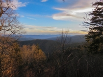 Sunset on the Appalachian Trail NCTN