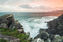 Sunset over Dingle Peninsula