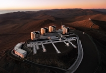 Sunset Over Paranal Observatory