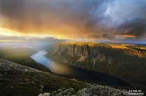 Sunset over ten miles pond - Victor Liu Gros Morne  xpost from rTrueNorthPictures