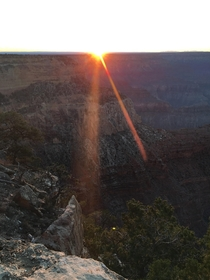 Sunset over the Gand Canyon